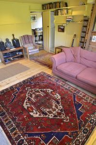 The new carpet in Hunky Dory living room Holtsfield, Murton, Gower, S.Wales, UK