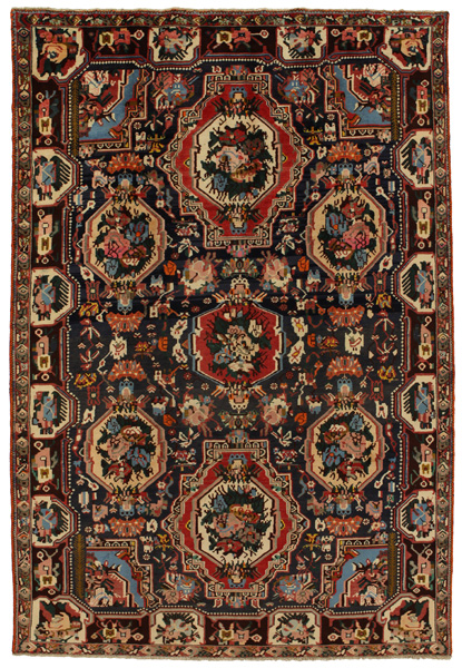Bakhtiari Persian Carpet
